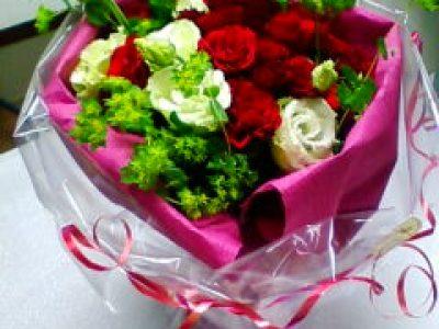 バラトルコキキョウの花束