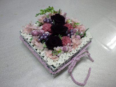 プリザのボックスデザイン