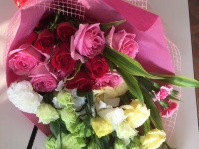 お別れの花束