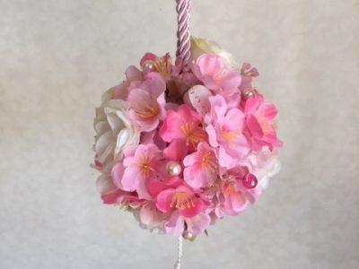 桃の花のトピアリー
